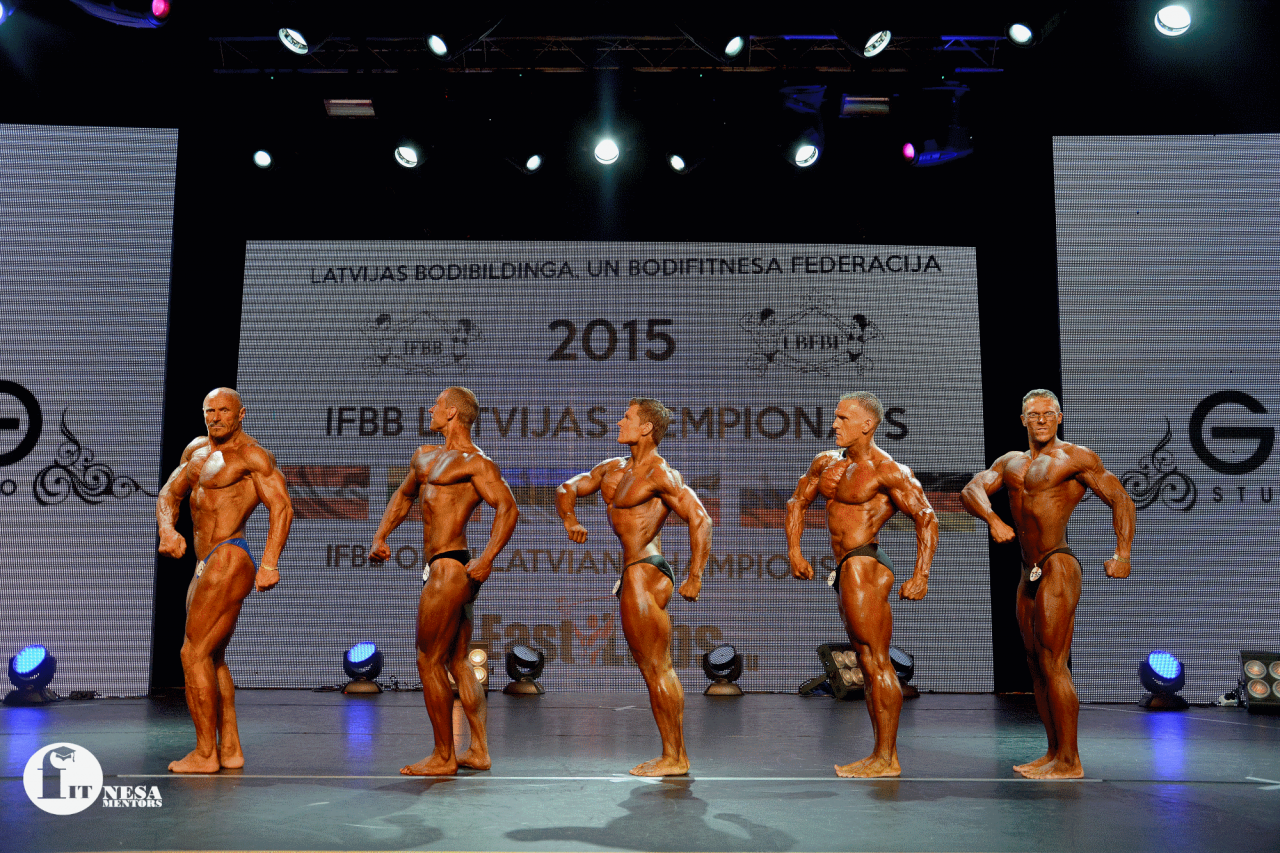Latvian Bodybuilder Aivars Visockis ranked in third place 26d8f9261b