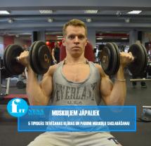 Samazini tauku slāni, saglabājot muskuļu masu