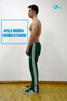Apaļā mugura - Treniņu ieteikumi